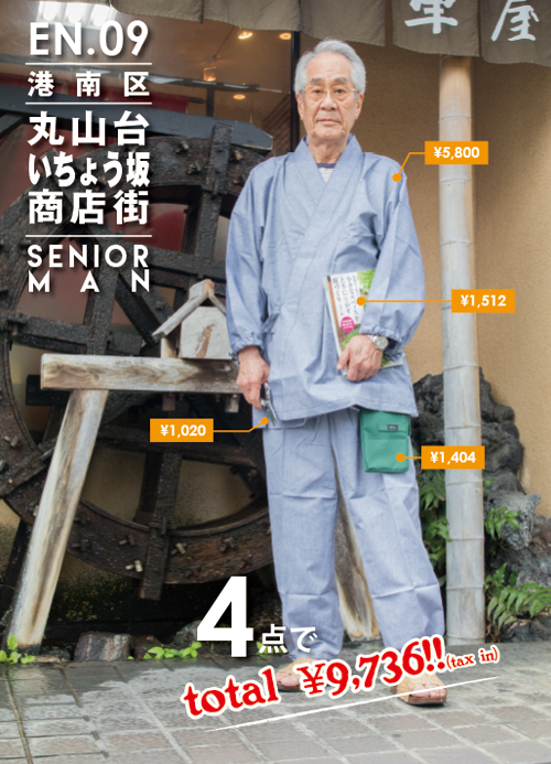 竹谷さん / 丸山台いちょう坂商店街